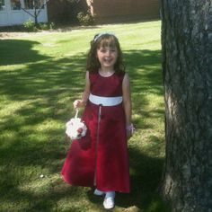 My Daughter - bridesmaid for her Auntie Lisa & Uncle Andy's wedding. 12/05/2012.