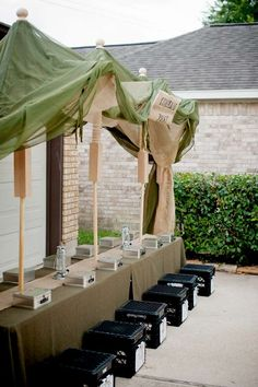 Military Summer Party Ideas | Photo 7 of 11 | Catch My Party