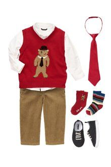 Bear-y handsome sweater from Gymboree