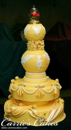 Wedding Cakes - Carrie's Wedding Cakes... its the belle cake!!!