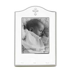 Abbey Birth Record Frame by Reed and Barton. #babygift #birthrecord #silver