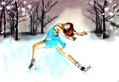 Ice Skating Backgrounds | Ice Skating by =SayoArt on deviantART