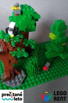 Naučte sa postaviť stromy z Lega (a k nim miniatúrne vtáčiky).