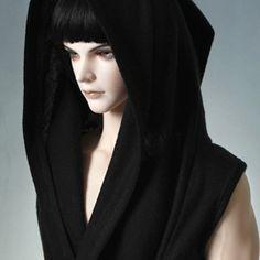 iplehouse SID man Black Hooded Vest