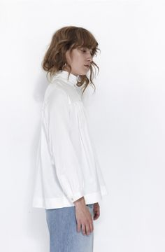 5581cb0544093 Horses Atelier is a Toronto-based women s clothing brand founded by best  friends Heidi Sopinka and Claudia Dey. High Collar BlouseBell ...
