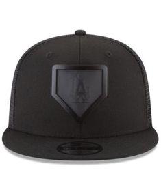 2c0779a7472 New Era Los Angeles Dodgers Leather Metal Plate 9FIFTY Cap Men - Sports Fan  Shop By Lids - Macy s