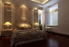 Luxury master bedroom VaLuxuryHouses.com