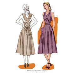 1940s Siren Sundress for Marilyn Monroe style dress - #4003 – Decades of Style Pattern Company