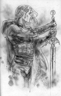 Wild sketches series - Luis Royo