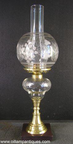 Lamplight Farms Milk Glass Gold Eagle Design Hurricane Kerosene ...
