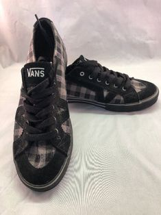 a09b9543f3 Vans VN-0XFQL5C TORY Black Gray Skateboard Casual Size 9US Never Worn   fashion