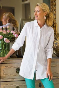 Seams Perfect Shirt from Soft Surroundings