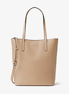 3aa9749568 Emry Large Leather Tote by Michael Kors Michael Kors Stores