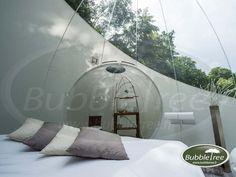 dormir dans une bulle Outdoor Furniture, Outdoor Decor, Bed, Home Decor, Bubbles, Decoration Home, Stream Bed, Room Decor, Beds