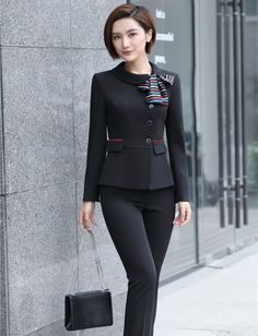 business attire for women Corporate Outfits, Corporate Wear, Business Outfits, Business Attire, Business Women, Business Fashion, Classy Work Outfits, Office Outfits, Office Uniform