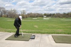 Hit a bucket of balls at the Driving Range at Downers Grove Golf Club: dgparks.org