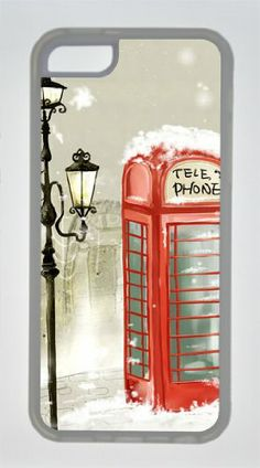 iPhone 5c Case - Christmas Snow Telephone Booth Soft TPU Transparent Skin Cover Case for iPhone 5C by Hahashopping Christmas iPhone 5C Case,http://www.amazon.com/dp/B00GBUK3JG/ref=cm_sw_r_pi_dp_LLjUsb15KK8NH66S