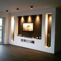 Home Furnishings Products That Happen To Be Quot; - Home Decor Ideas Ceiling Design Living Room, Living Room Designs, Living Room Decor, Home Building Design, House Design, Lcd Wall Design, Fireplace Tv Wall, Modern Tv Wall Units, Tv Wall Decor