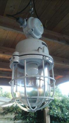Bully lamp van oud en echt via Marktplaats