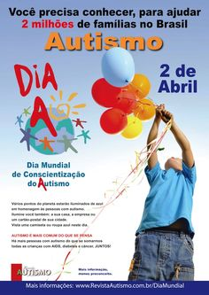 Autism you need to know to help. April 2 World Day of autism awareness