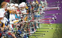 David Levene: The Women's Archery Individual and Team Ranking Round at Lord's