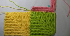 Back in July of 2008, I shared a little picture tutorial on the general idea for making the Mitered Squares Baby Blanket which is available ...