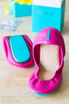 Amazing Tieks Ballet Flats #Giveaway on ASpicyPerspective.com #shoes #fashion #spring