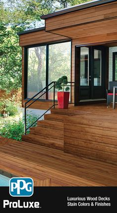Modern Deck Inspiration Expand Your Back Yard E With This Ideal Wooden Interior Wood Staindeck