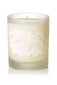 MCMC Hunter Candle ($48): Perfumer Anne McClain took a traditional fir balsam note and blended in bourbon vanilla and tobacco to give this candle a smokier, sexier, more heritage appeal. It makes sense that these candles are made in Brooklyn.