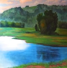 Jamee Linton original painting oil on canvas On Sale Now! Acre, Oil On Canvas, Original Paintings, Fine Art, The Originals, Mornings, Painted Canvas, Visual Arts, Oil Paintings