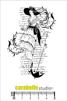Carabelle Studio - Cling Stamp - Mode Feminine,$10.99