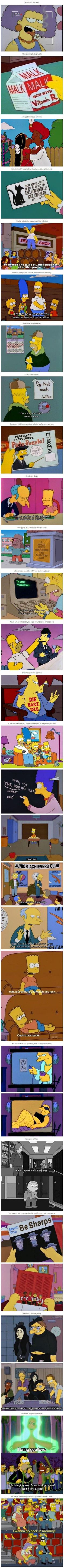 Things the Simpsons taught me