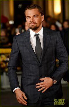 Leonardo DiCaprio 'Wolf of Wall Street' UK premiere