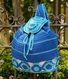 How to Make a Crochet Backpack