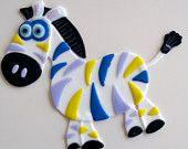Rainbow Zebra  great for kids