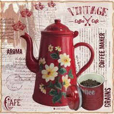VINTAGE, EL GLAMOUR DE ANTAÑO: Desayunamos con Chocolate, Té o Café