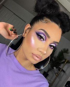 Makeup Eye Looks, Cute Makeup, Glam Makeup, Girls Makeup, Gorgeous Makeup, Skin Makeup, Pretty Makeup, Makeup Brushes, Amazing Makeup