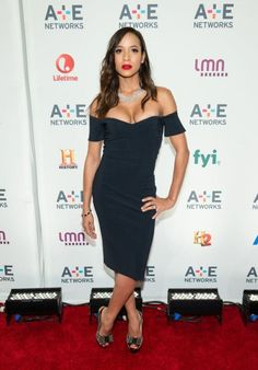 dania-ramirez-at-2015-a-e-lifetime-networks-upfront-in-new-york-la-petite-robe-dress