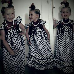 Niñas flamencas