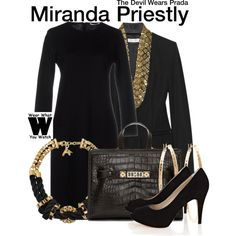 b9e0bafddee3 Inspired by Meryl Streep as Miranda Priestly in The Devil Wears Prada.