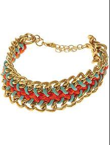Bracelet gourmette tressé Femme - Kiabi - 3,59€