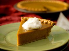 Try Andrew's recipe for pumpkin pie. It's a delicious dessert inspired by the Motor City --Detroit.