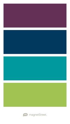 Purple Color Schemes mint, teal, navy, and purple color scheme | dorm room | pinterest