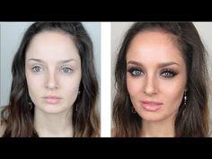 Clubbing Makeup Tutorial: Sexy Eyes & Glowing Skin - YouTube