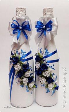 Свадьба в синих тонах фото 1