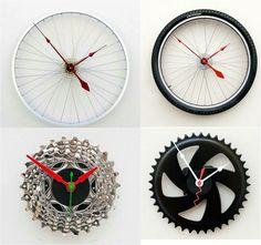 bike parts bike ideas bicycle art bike stuff diy design wall clocks diy furniture magnetic compass tiny houses