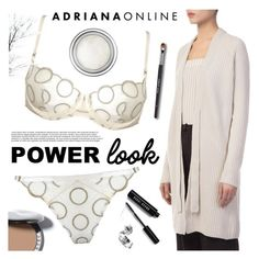 """""""ADRIANA ONLINE: Power Look"""" by gaby-mil ❤ liked on Polyvore featuring Bobbi Brown Cosmetics and Christian Dior"""