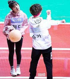 W : Remember, don't take this game seriously, okay? I don't want you get hurt. S : Hm. W : For real. S : Okay, babe. Heart Vs Mind, Bts Suga, Jhope, Kpop Couples, Wendy Red Velvet, You Dont Want Me, Your Boyfriend, Rap Monster, Yoonmin