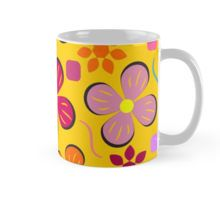 A colorful mug for a cup of strong coffee on a #sleepy #summer #morning #Redbubble