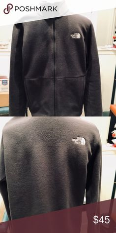 Men's North Face Fleece Jacket-Medium This is a Men's North Face Fleece Jacket. My husband got it for Christmas and it does not fit. Color: Black Smoke & Pet Free Home The North Face Jackets & Coats